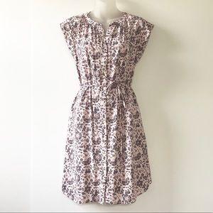 Ann Taylor Loft Tie Waist Dress With Pockets!